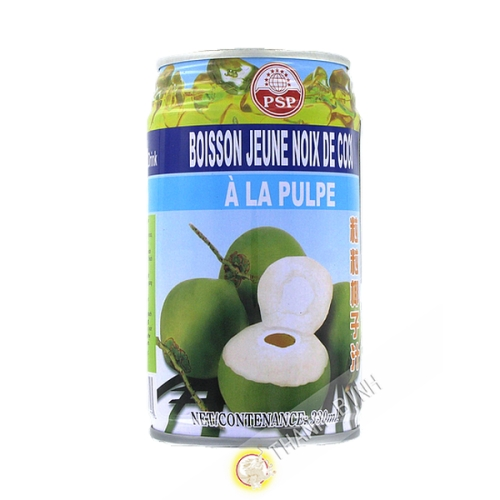 Juice of young coconut to the puple FOCO 330ml Thailand