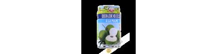 Jus de jeune coco à la puple FOCO 330ml Thailande