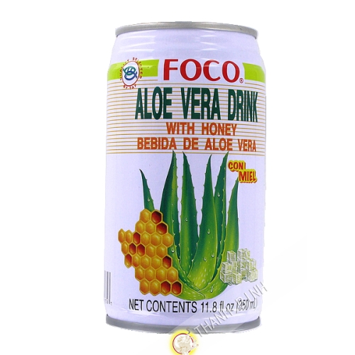 Aloe vera juice with honey FOCO 350ml Thailand