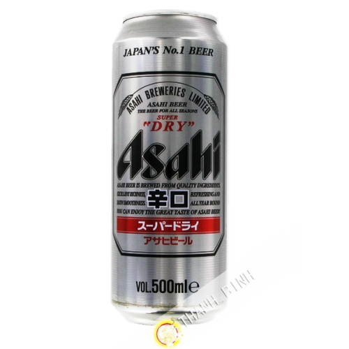 Beer Asahi Super Dry in a can 500ml Japan