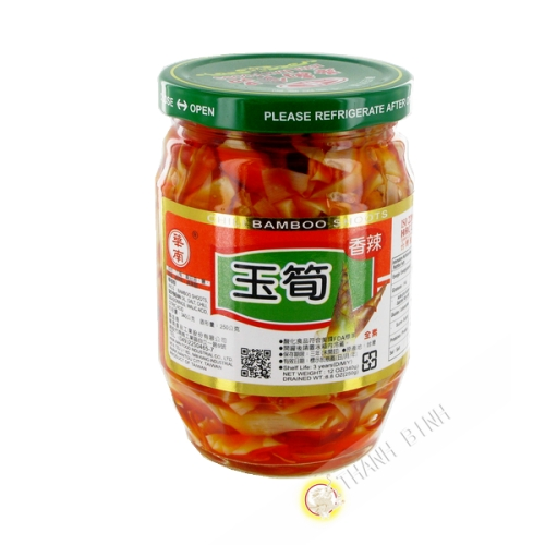 Bamboo oil spicy 340g