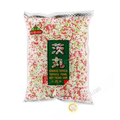 Ball tapioca color THAI TOP CHOICE 400g Thailand