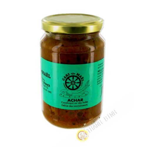 Pickle vegetable CURRY MAEL 360g France
