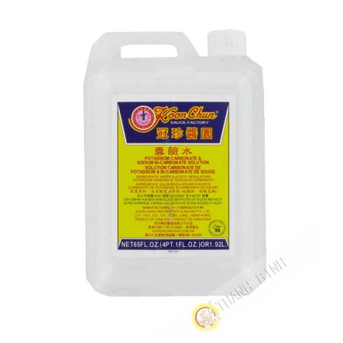 Water of potash, sodium bi-carbonate KOON CHUN 1.92 l China
