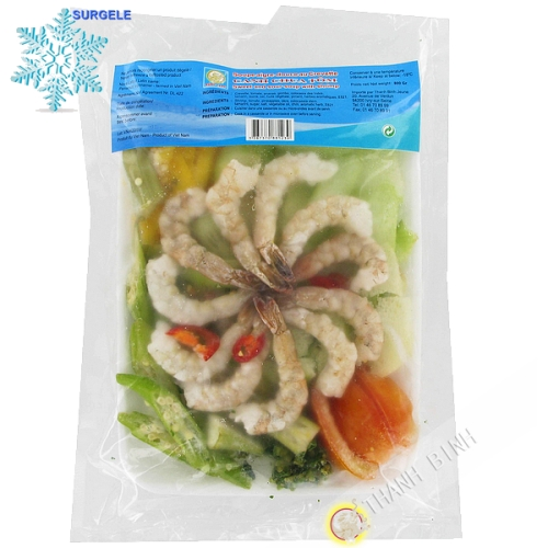 Soup sweet and sour shrimp DRAGON GOLD 800g - SURGELES