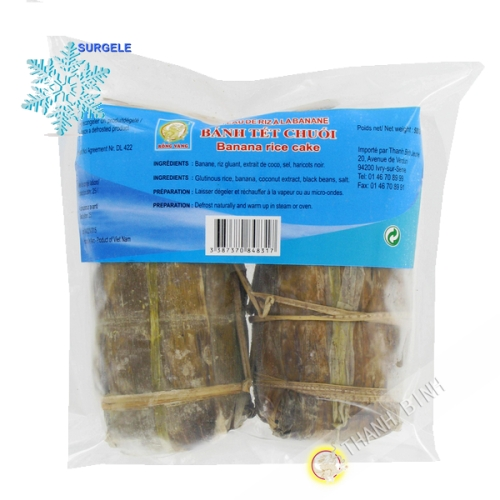 Cake sticky rice with banana DRAGON GOLD-500g, Vietnam - SURGELES