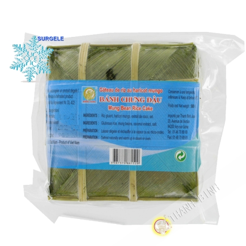 Cake sticky rice, Banh Chung DRAGON GOLD-500g - SURGELES