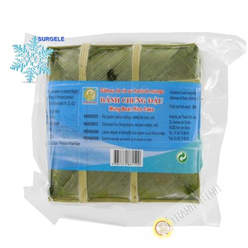 Pastel de arroz glutinoso, Banh Chung DRAGÓN de ORO-500 g - SURGELES