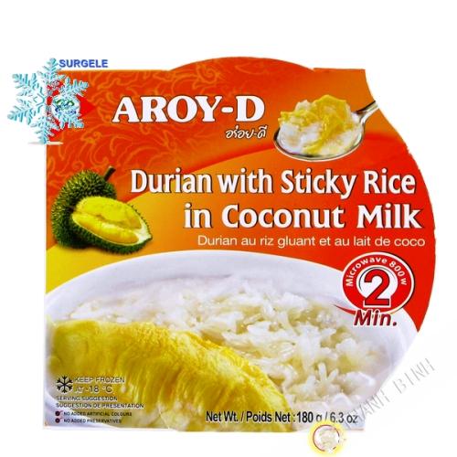 De postre, el arroz pegajoso durian 180g - SURGELES