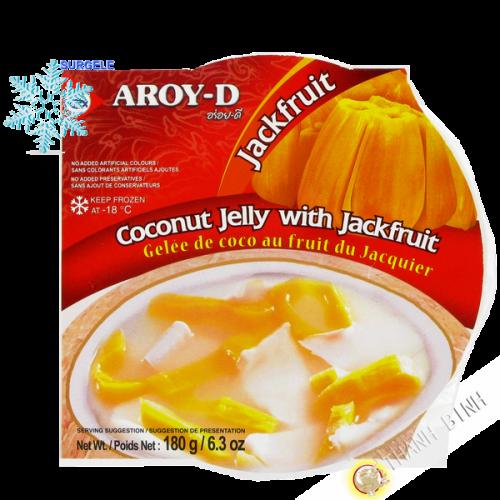 Dessert kokos-früchte-jacquier 180g - HALLO,