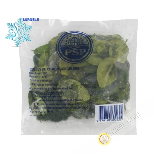 Leaf lemon 100g - SURGELES