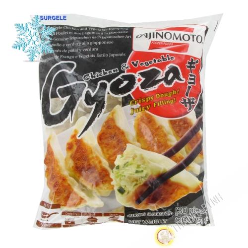 Gyoza de pollo, de verduras AJINOMOTO 600g - SURGELES