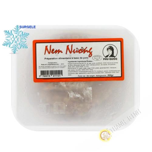 La masa de carne de Cerdo Nem nuong PQ 500g