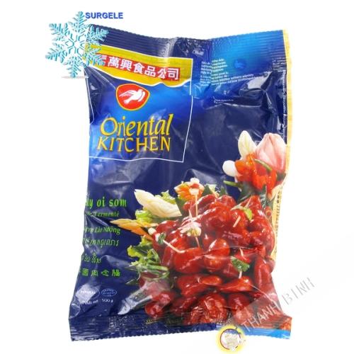 香肠老挝冻结500g