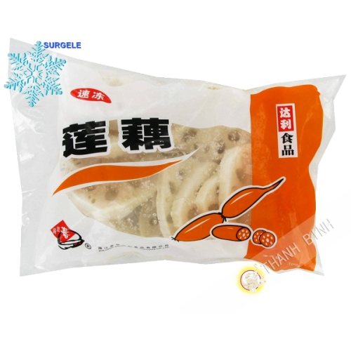 Racine de lotus en tranche PSP 500g Chine - SURGELES