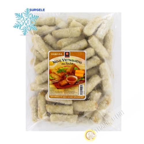 Los rollitos de primavera Vietnamitas pollo 50pcs por separado 1,5 kg de Francia - SURGELES