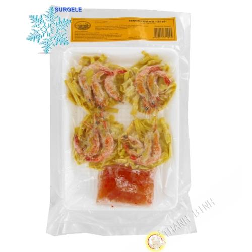 Fritter shrimp, Tay Ho EXOSTAR 200g Vietnam - SURGELES