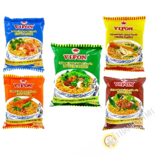 Sopa de fideos mezclados VIFON 5pcs 70g de Vietnam