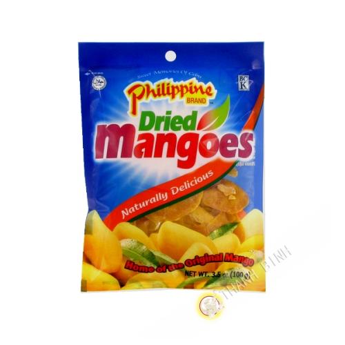 Mango getrocknet BCK 100g Philippinen