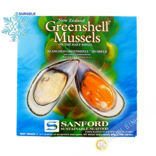 Mussel 1/2 shell 1kg
