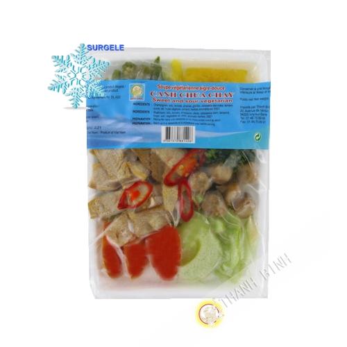 Soupe aigre Douce végétarien DRAGON OR 500g Vietnam - SURGELES