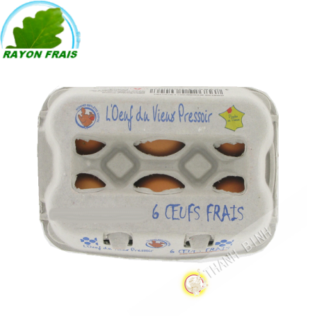Fresh eggs 6pcs