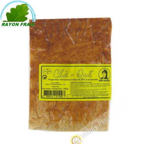 Impasto di carne di maiale con la cannella PQ