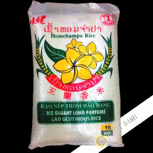 Riz gluant Hom Champa Laos 18kg