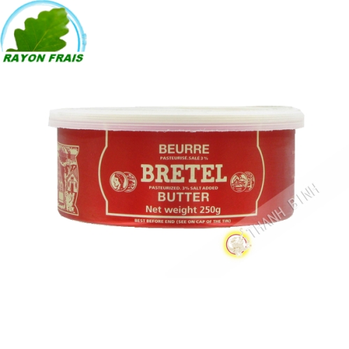 黄油BRETEL250克法国
