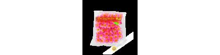 Rosa flor de la asociación de propietarios de Dao para el Año Nuevo Vietnam