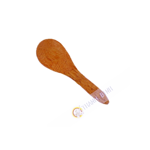 Spoon rice wood