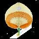 Fan in bamboo