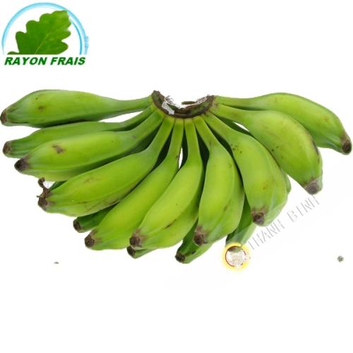 Banane, grüner salat (kg)