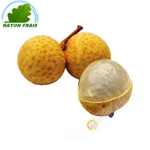 Longan fresh Thailand (case of 3kgs)- COSTS