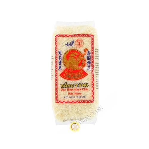 De arroz fragante largo de jazmín DRAGÓN de ORO de 1kg Tailandia