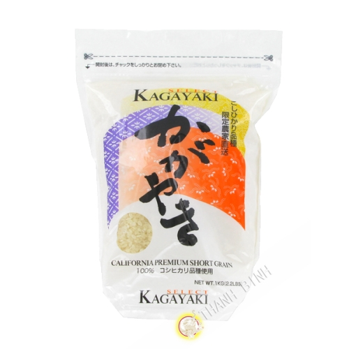 Arroz redondo Kagayaki 1kg