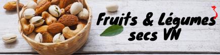 Frutas y Verduras secas. VN