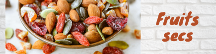 Salted dried fruits