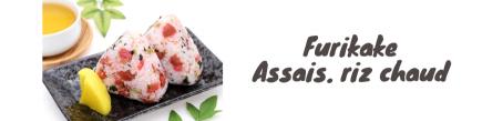 Furikake-Assais. arroz caliente