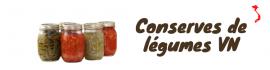 Conserves de légumes VN