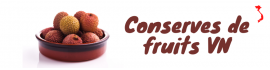 Conserves de fruits VN