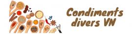 Condiments divers VN