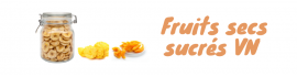 Süße getrocknete Früchte VN