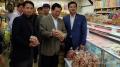 Bộ trưởng Vũ Huy Hoàng khảo sát thị trường nông sản Paris