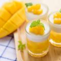 Pudding à la mangue